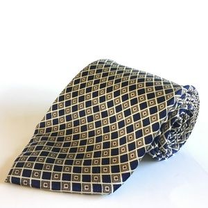 Other - 1980s Kailong All Silk Hand Made Wide Tie